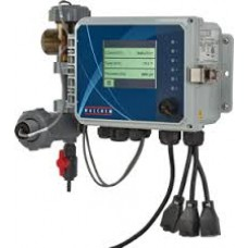 Bleed & Feed Cooling Tower Conductivity Controller w|dual biocide timers & flow switch and probe on panel