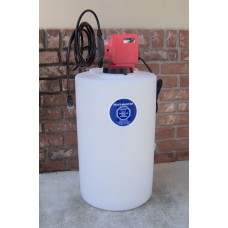 RM-15-06-115v Injection System for Rust Prevention or Chlorine injection 15 Gallon Tank